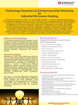 Industrial Microwave Heating